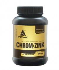 PEAK Chrom / Zinc (Chrom - Zinc - Selen) 180 Tabs.