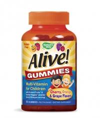 NATURES WAY Alive Children's Multi-Vitamin Gummy 90 Tabs.