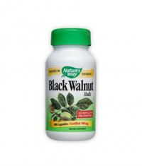 NATURES WAY Black Walnut Hulls 100 Caps.
