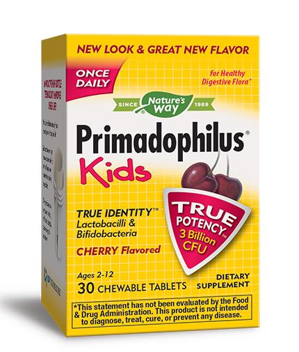NATURES WAY Primadophilus Kids 30 Tabs.