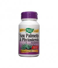 NATURES WAY Saw Palmetto & Phytosterols Standardized 30 Caps.