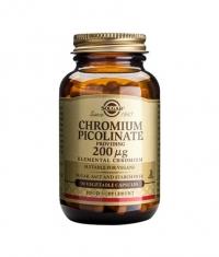 SOLGAR Chromium 200ug. / 90 Tabs.