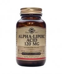 SOLGAR Alpha Lipoic Acid 120mg. / 60 Caps.