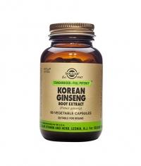 SOLGAR Korean Ginseng Root Extract, S.F.P. 60 Caps.