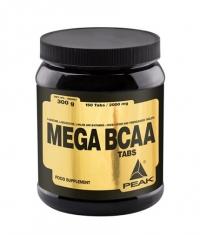 PEAK Mega BCAA 150 Tabs.