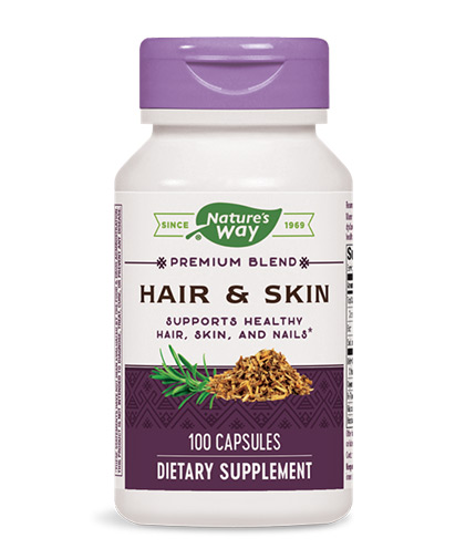 natures-way Hair & Skin With MSM & Glucosamine 100 Caps.