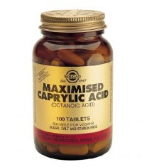 SOLGAR Maximised Caprylic Acid 100 Tabs.