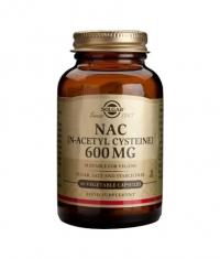 SOLGAR NAC (N-Acetyl-L-Cysteine) 600mg. / 60 Caps.