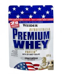 WEIDER Premium Whey Protein 500g.