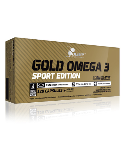 olimp Omega-3 GOLD Sport Edition / 120 Caps.