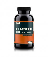 OPTIMUM NUTRITION Flaxseed Oil 1000mg. / 200 Softgels