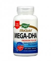 NATURES WAY EfaGold Mega-DHA 60 Caps.