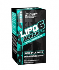 NUTREX Lipo 6 Black Hers Ultraconcentrate 60 Caps.