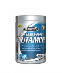 MUSCLETECH 100% Ultra-Pure Glutamine 60 Serv.