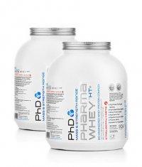 PROMO STACK PhD Pharma Whey HT 5 Lbs. / x2
