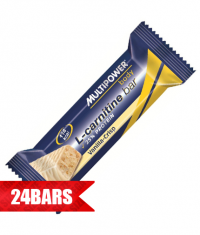MULTIPOWER Fit Active L-Carnitine Bar 24 x 45g.