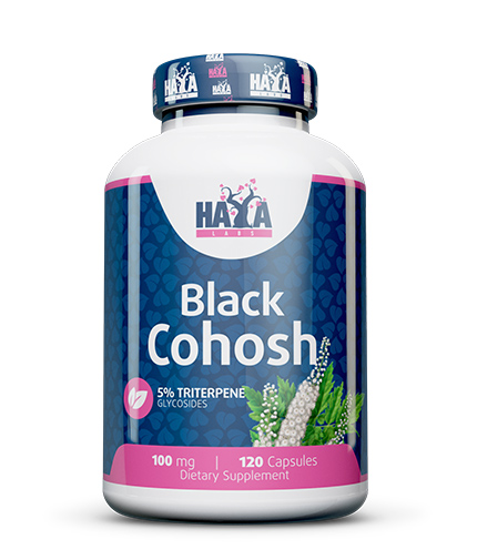 HAYA LABS Black Cohosh 100mg. / 120 Vcaps.