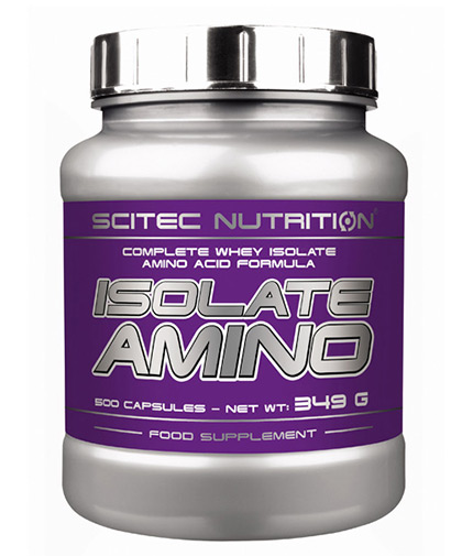 SCITEC Isolate Amino 250 Caps.