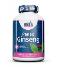 HAYA LABS Panax Ginseng 200mg. / 120 Vcaps.