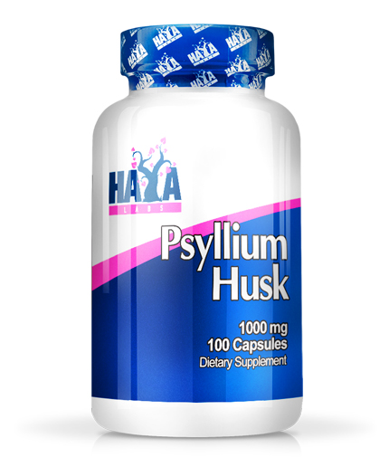 haya-labs Psyllium Husks 1000mg. / 100 Vcaps.