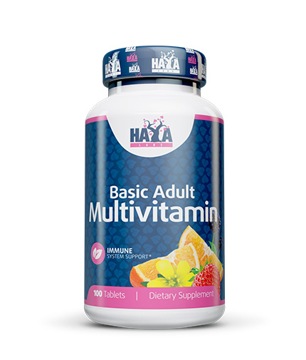 haya-labs Basic Adult Multivitamin 100 Tabs.