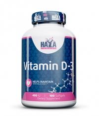 HAYA LABS Vitamin D 400 IU / 100 Softgels