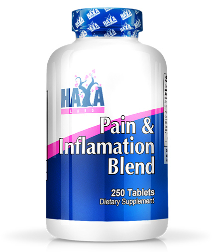 HAYA LABS Pain & Inflammation Blend 250 Tabs.