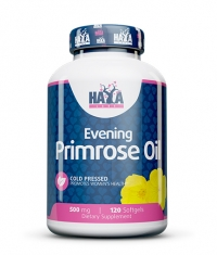HAYA LABS Evening Primrose Oil / Cold Pressed / 500mg. / 120 Softgels