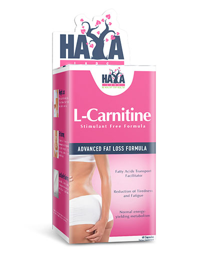 haya-labs L-Carnitine 250mg. / 60caps.