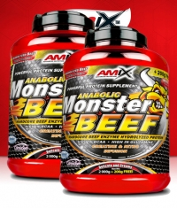 PROMO STACK Amix Beef Monster 5 Lbs / x2
