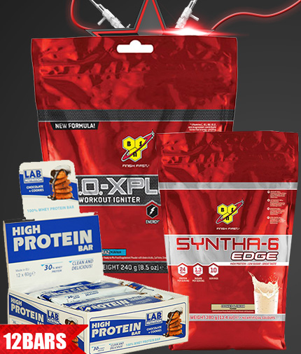 PROMO STACK PR 2 - (BSN SYNTHA-6  Chocolate peanut butter)