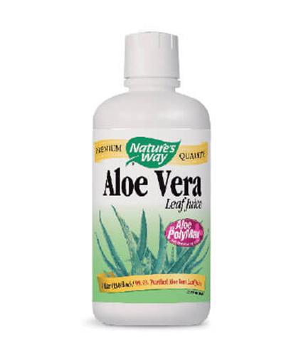 natures-way Aloe Vera Whole Leaf Juice 1000ml.