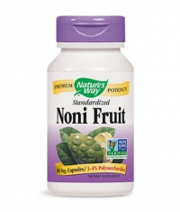 NATURES WAY Noni Fruit Standardized 60 Caps.