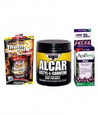 PROMO STACK NATROL Acai Berry Diet / AMIX Thermo Core / PRIMAFORCE Acetyl L-Carnitine
