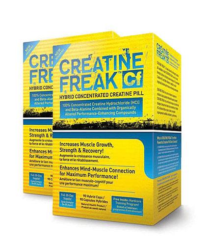 PROMO STACK Pharma Freak Creatine Freak 90 Caps. / x2