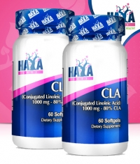PROMO STACK Haya Labs CLA 60 Softgels x2