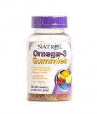 NATROL Omega-3 / 60 Gummies