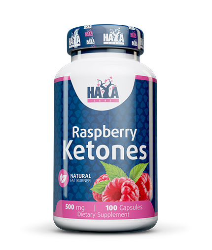 haya-labs Raspberry Ketones 500mg / 100 Caps.