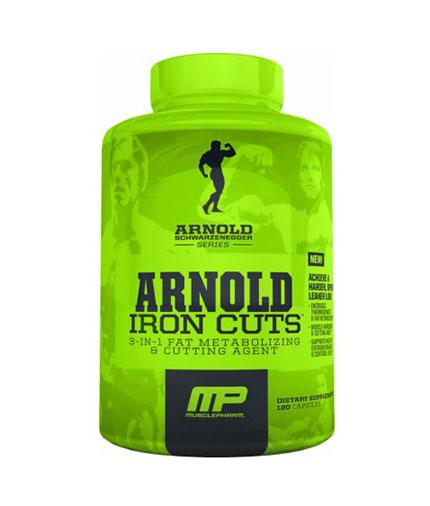 mp-arnold-series Iron Cuts 120 Caps.