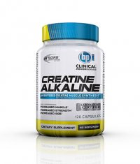BPI SPORTS Clinical Creatine Alkaline 120 Caps.