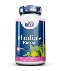 HAYA LABS Rhodiola Rosea Extract 500mg. / 90 Caps.