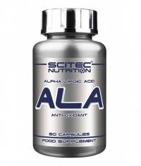 SCITEC ALA - Alpha-Lipoic Acid 250 mg. / 50 Caps.