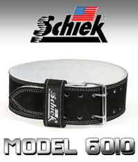 SCHIEK L6010 Competition Power Belt - Double Prong