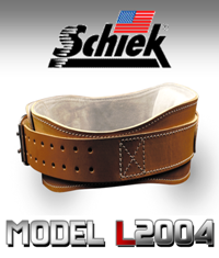 SCHIEK L2004 Leather Lfting Belt