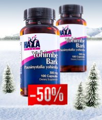PROMO STACK Haya Labs Yohimbe Bark / 1+50% OFF