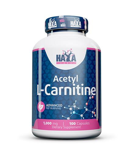 HAYA LABS Acetyl L-Carnitine 1000mg / 100 Caps.