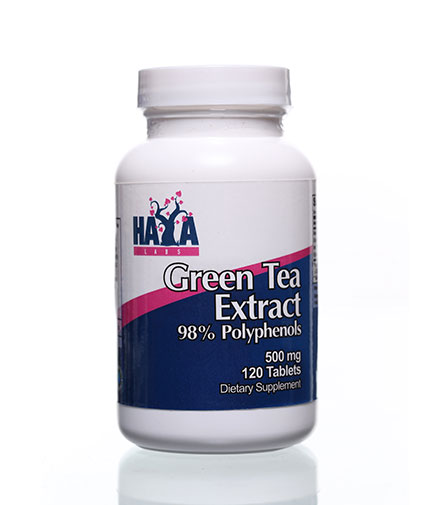 HAYA LABS Green Tea Extract 500mg / 120 Tabs.