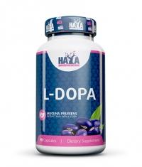 HAYA LABS L-DOPA /Mucuna Pruriens Extract/ 90 Caps.