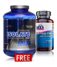 PROMO STACK MEX Flex Wheeler's Isolate Pro + HAYA LABS Cal-Mag-Zinc FREE