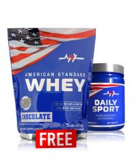 PROMO STACK MEX American Standard Whey + MEX Daily Sport FREE
